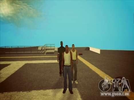 Commutation entre les personnages comme dans GTA pour GTA San Andreas