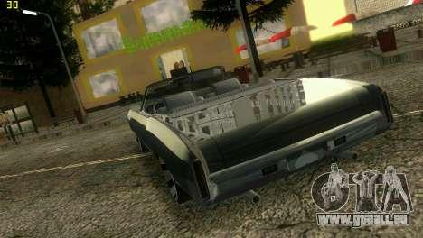 Chevy Monte Carlo pour une vue GTA Vice City de la droite