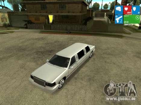 New Stretch für GTA San Andreas Rückansicht