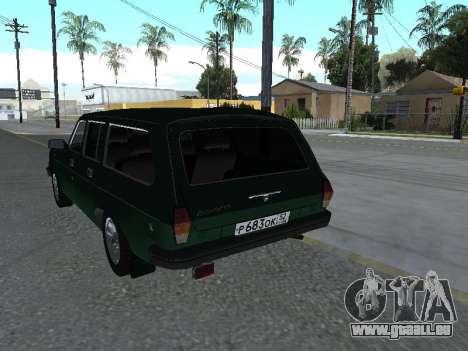 310221 GAZ pour GTA San Andreas vue de droite