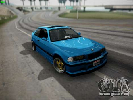 BMW M3 E36 Stance pour GTA San Andreas salon