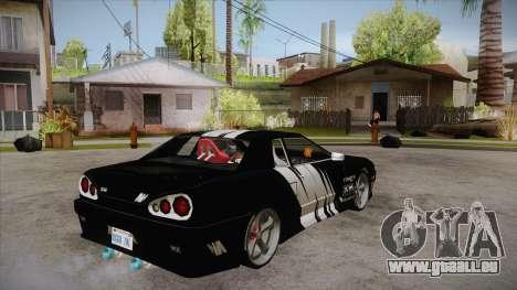 Elegy Touge Tune pour GTA San Andreas vue de droite