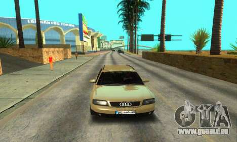 Audi A6 (C5) Avant für GTA San Andreas Unteransicht
