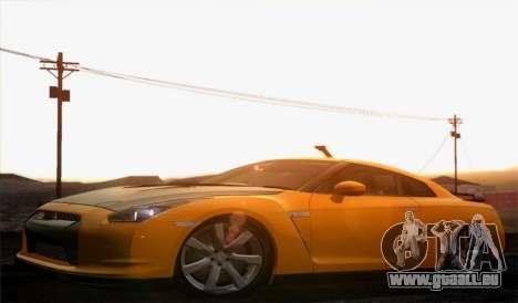Nissan GT-R Carbon pour GTA San Andreas