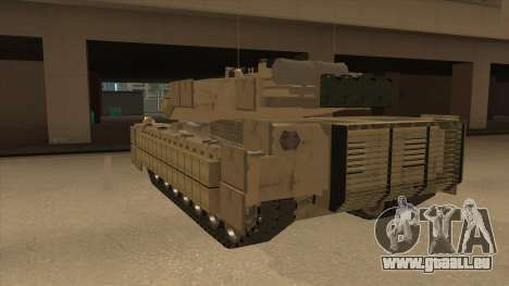 M69A2 Rhino Desierto für GTA San Andreas Rückansicht