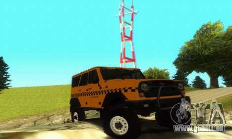 UAZ Hunter Taxi pour GTA San Andreas