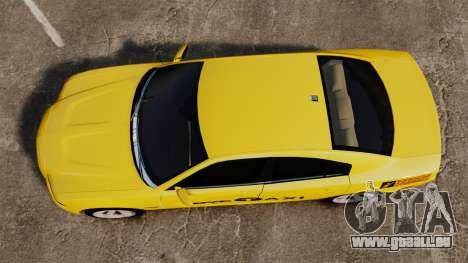 Dodge Charger 2011 Taxi für GTA 4 rechte Ansicht