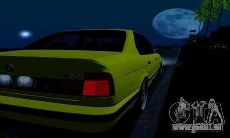 BMW M5 E34 IVLM v2.0.2 pour GTA San Andreas salon