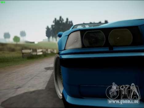 BMW M3 E36 Stance für GTA San Andreas obere Ansicht
