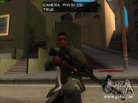 AK-103 für GTA San Andreas her Screenshot