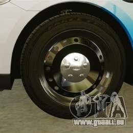 Ford Taurus 2010 Police Interceptor Detroit pour GTA 4 Vue arrière