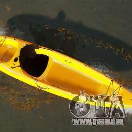 Canoë-kayak pour GTA 4 Vue arrière de la gauche