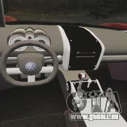 Volkswagen W12 Nardo 2001 [EPM] pour GTA 4 est une vue de l'intérieur