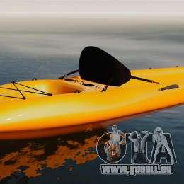 Canoë-kayak pour GTA 4 est une gauche