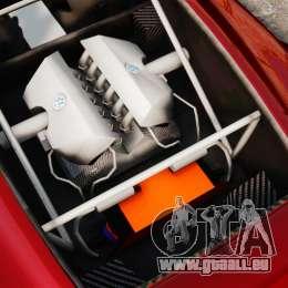 Volkswagen W12 Nardo 2001 [EPM] pour GTA 4 Vue arrière