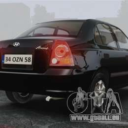 Hyundai Accent Admire pour GTA 4 Vue arrière de la gauche