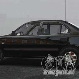Hyundai Accent Admire pour GTA 4 est une gauche
