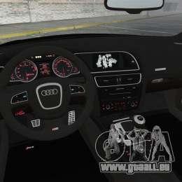 Audi RS5 2011 v2.0 für GTA 4 obere Ansicht
