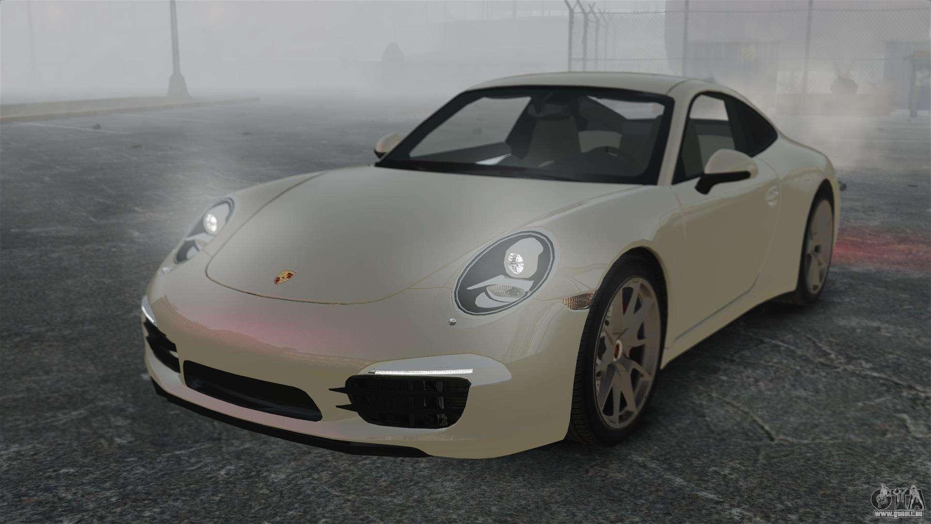 porsche 911 carrera s 2012 v2 0 pour gta 4. Black Bedroom Furniture Sets. Home Design Ideas