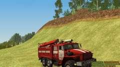 Ural 4320-Feuerwehrmann
