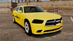 Dodge Charger 2011 Taxi für GTA 4