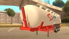 Semi-remorque pour Scania R620 Nis Nis Kamion
