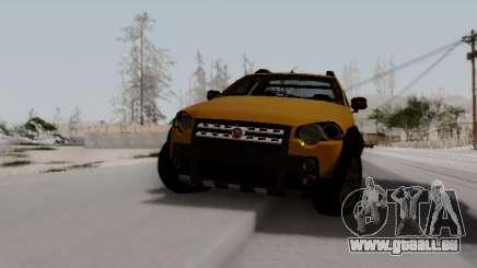 Fiat Strada Adv Locker pour GTA San Andreas