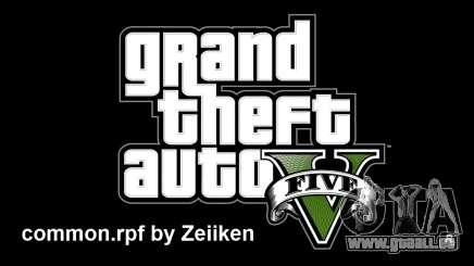 GTA 5 Mods v1 By ZeiiKeN pour GTA 5