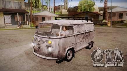 Volkswagen Transporter T2 Custom pour GTA San Andreas