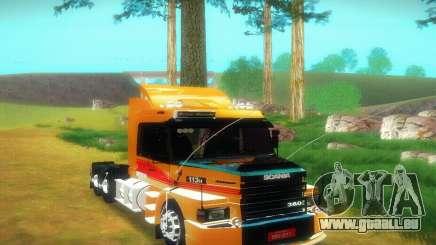 TopLine Scania 113 h 360 pour GTA San Andreas