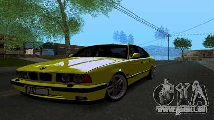 BMW M5 E34 IVLM v2.0.2 pour GTA San Andreas