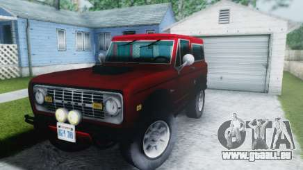 Ford Bronco 1966 pour GTA San Andreas