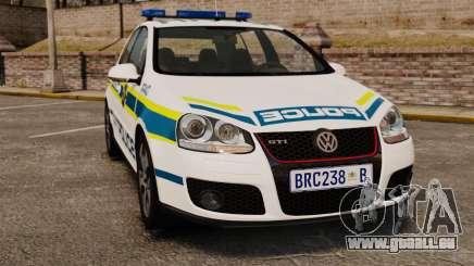 Volkswagen Golf 5 GTI Police v2.0 [ELS] pour GTA 4