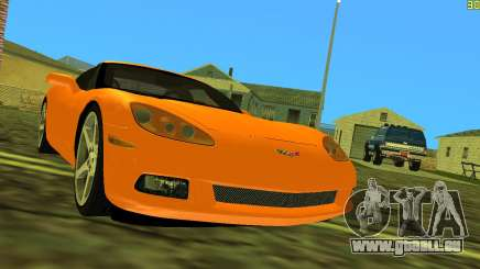 Chevrolet Corvette C6 pour GTA Vice City