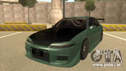 Proton Wira with s15 front end für GTA San Andreas