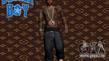 Soulja Boy skin pour GTA San Andreas