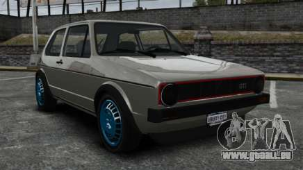 Volkswagen Golf MK1 GTI Update v2 pour GTA 4