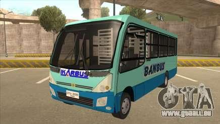 BANBUS Bus Srb. pour GTA San Andreas