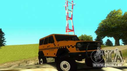 UAZ Hunter-Taxi für GTA San Andreas