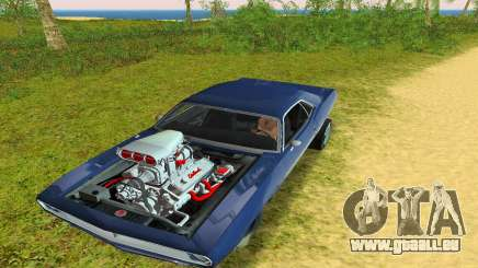 Plymouth Barracuda Supercharger pour GTA Vice City