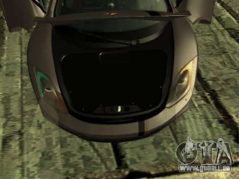 McLaren MP4-12C WheelsAndMore pour GTA San Andreas vue de côté