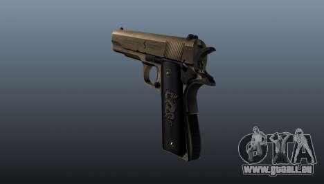 Pistolet M1911 v2 pour GTA 4 secondes d'écran