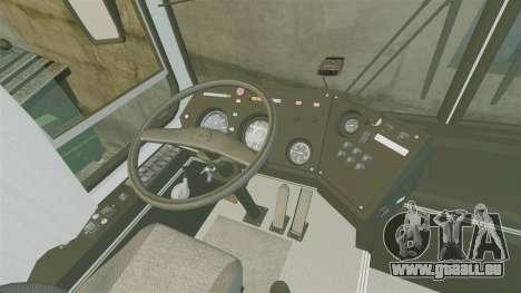 LIAZ-5256 45-01 pour GTA 4 Vue arrière