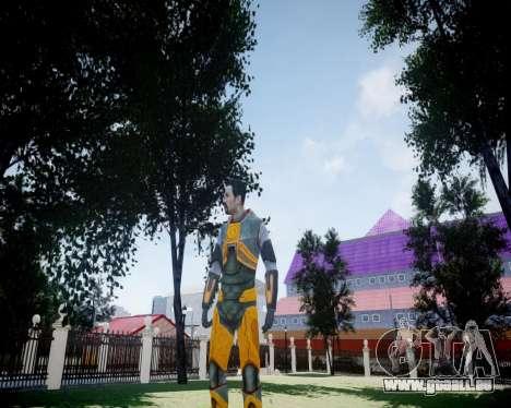 Gordon Freeman für GTA 4 sechsten Screenshot