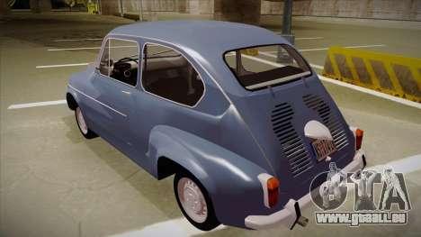 Zastava 750 Fico für GTA San Andreas zurück linke Ansicht