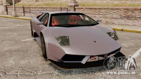 Lamborghini Murcielago RSV FIA GT1 v2.0 pour GTA 4