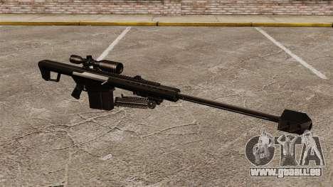 Le Barrett M82 sniper rifle v2 pour GTA 4