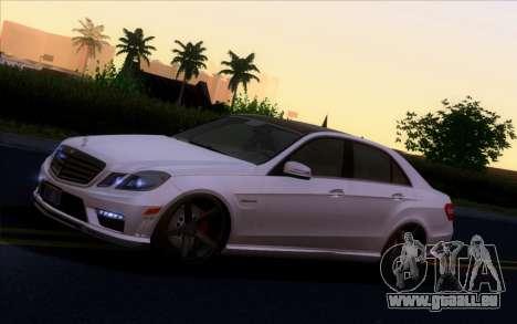 Mercedes-Benz E63 AMG Vossen V1.0 für GTA San Andreas