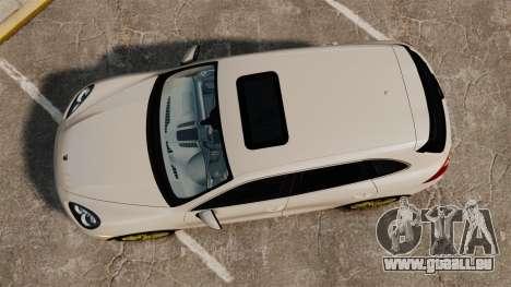 Porsche Cayenne Turbo 2012 v3.5 für GTA 4 rechte Ansicht