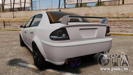 Optimierung des Premierministers Version für GTA 4 hinten links Ansicht